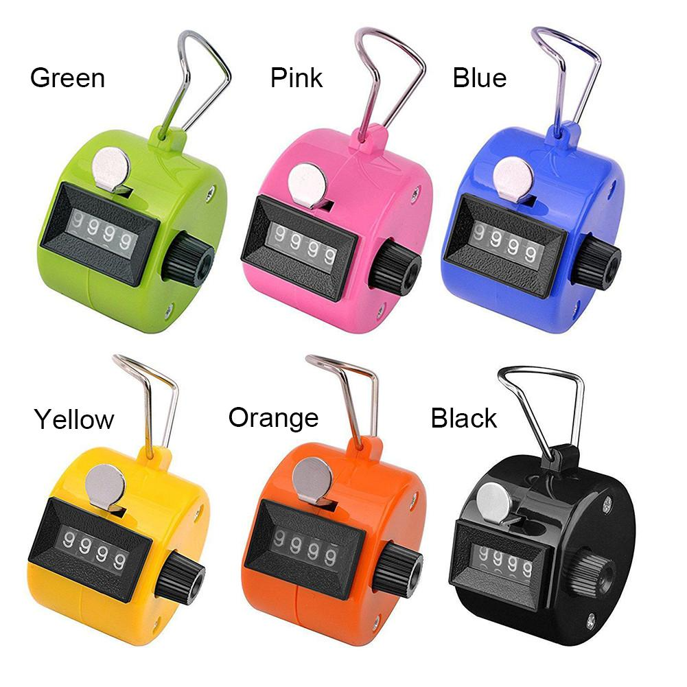 8 Colors Mini Manual Number Counter Click Stroke Hand Tally Counter
