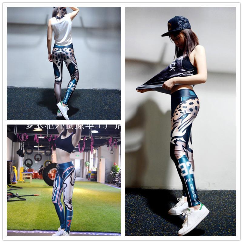 Женские сексуальные леггинсы DROZENO, персонализированные спортивные штаны с принтом, спортивные Леггинсы для фитнеса, японские