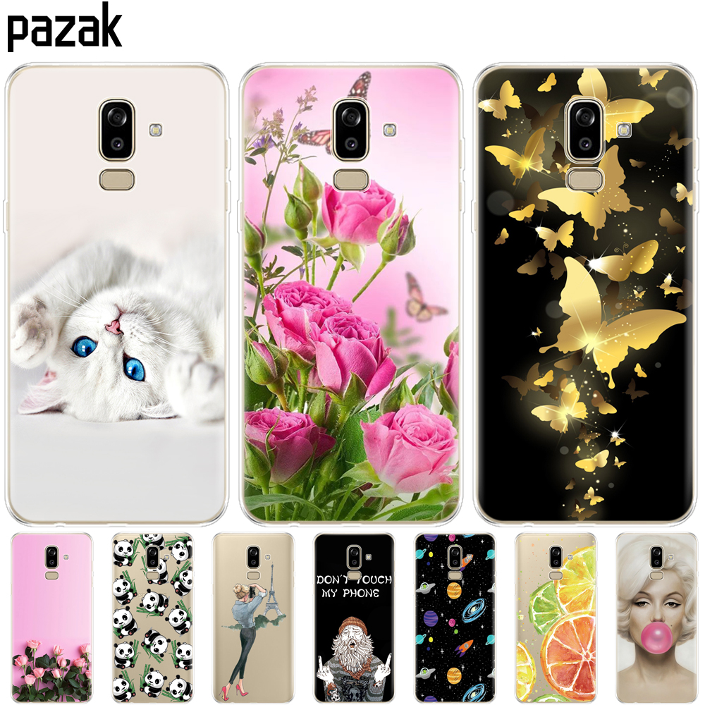 silicone Case for Samsung Galaxy J8 2018 back Cover phone for Samsung Galaxy J8 2018 j810 Funda for Samsung J8 2018 Phone Case