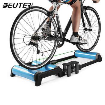 Bike Trainer Rollen Indoor Hause Erhalten rodillo bicicleta Radfahren Training Fitness Fahrrad Trainer MTB Rennrad Rollen