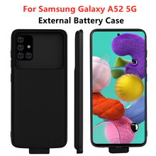 Battery-Charger-Cases Samsung Charging-Cover Power-Bank Galaxy 5000mah for A52 5G External