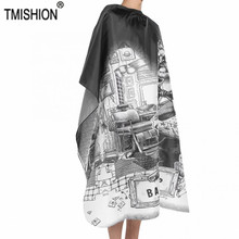 Hairdressing Waterproof Apron Cutting Salon Haircut Cape Gown Anti-static Barber Wrap for Salon Barber 150*135cm