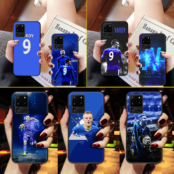 Jamie Vardy soccer Phone Case Cover Hull For Samsung Galaxy S 6 7 8 9 10 e 20 edge uitra Note 8 9 10 plus black Etui 3D prime image