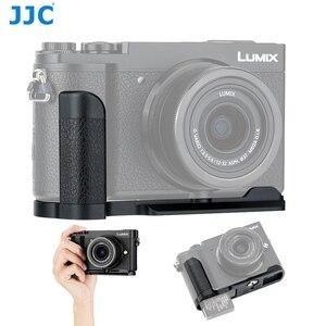 Image 1 - Quick Release Camera Hand Grip L Plate L Bracket for Panasonic Lumix GX9 GX85 GX80 GX7 Mark III II Replace DMW HGR2 Camera Grip