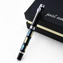 Jinhao глубоководная яркая шариковая ручка с жемчугом