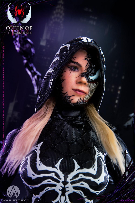 WAR STORY WS006 A Queen of the Dark Spider Action Figure Standard Version