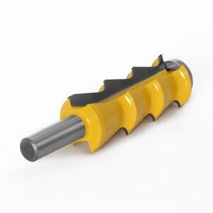 "Image 5 - 1pc תריסים תריס סגנון נתב קצת 1/2 ""Shank 12mm shank דלת סכין נגרות חותך שגם קאטר לעיבוד עץ כלים"
