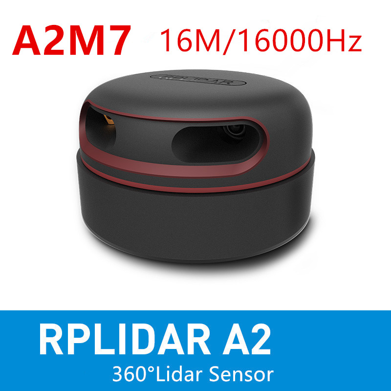 RPLIDAR A2M7 2D 360degree 16M 16K Hz  Lidar Sensor Scanner For Obstacle Avoidance Navigation And Screen Touch Interaction