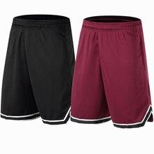 Баскетбольные шорты, дышащие спортивные шорты для бега, уличные спортивные шорты для фитнеса, шорты свободного кроя, пляжные шорты