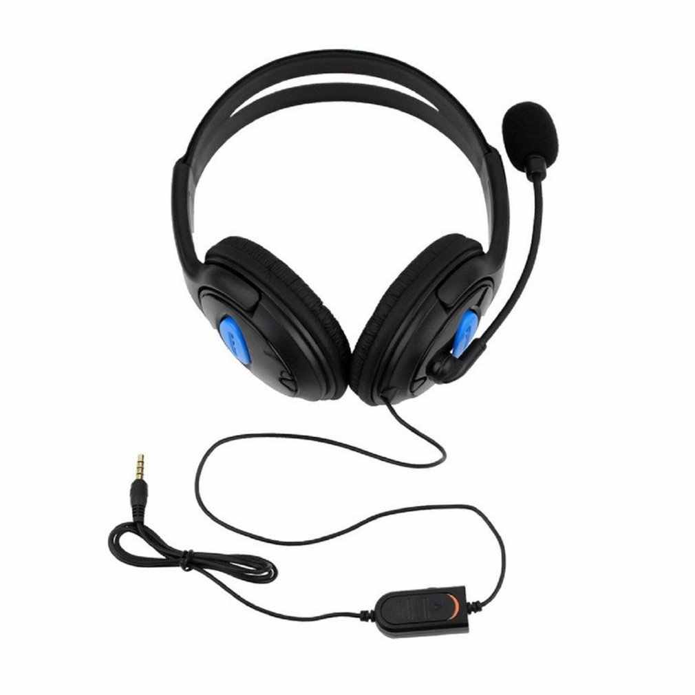 Ps4-001-A Headphone dengan MIC untuk Ps4 Sony Play Stasiun 4/PC Stereo Wired Gaming Headset