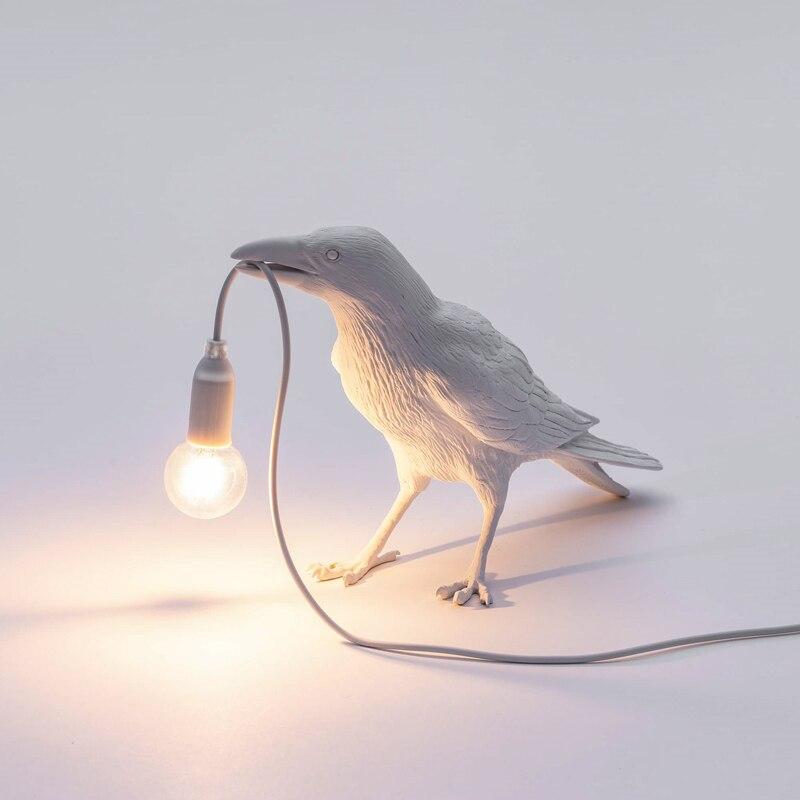 Moderna Origami Carino Alci lampade Da Tavolo Luci notturne per la camera Della Principessa Lampada da Tavolo Per Bambini In Camera Decorazione Scrivania luci Di Natale - 3