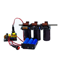 Электромагнитный пистолет Diy комплект готовое новое поколение Многоуровневое интегрированное обучающее оборудование для экспериментов по физике детские игрушки