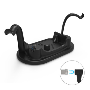 Akcesoria Organizer na biurko kontroler dotykowy stojak z magnesem szybki zestaw słuchawkowy stacja do ładowania VR stacja do ładowania Oculus Quest