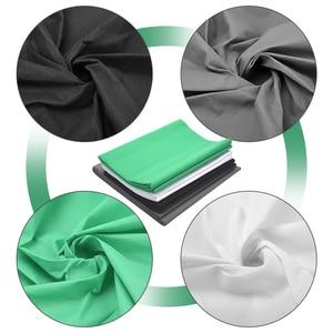 Image 5 - ZUOCHEN خلفية كروما 2 × 2 متر لاستوديو الصور ، أسود ، أبيض ، أخضر ، مجموعة دعم خلفية للتصوير الفوتوغرافي ، فيديو يوتيوب