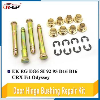 Door Hinge Bushing Repair Kit Set For Honda Civic EK EG EG6 SI 92 95 D16 B16 CRX Fit Odyssey Door Auto Parts image