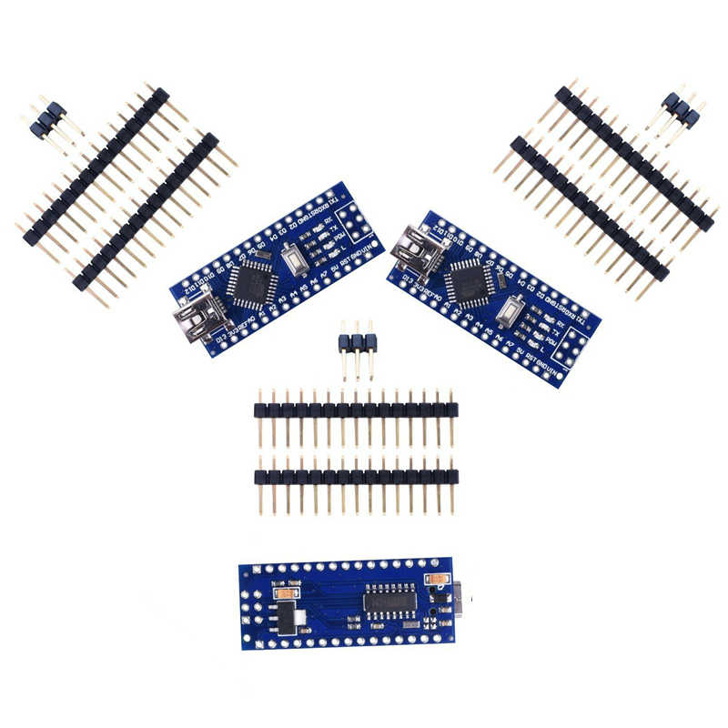 HOT-3pcs x 나노 V3 모듈 ATMega328 P CH340G 16MHz 미니 USB 호환 Arduino