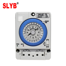24Hour Automatic Types Of 220V 230V Analog Mechanical Weekly Rotary Time Control Switch TB388 TB35N