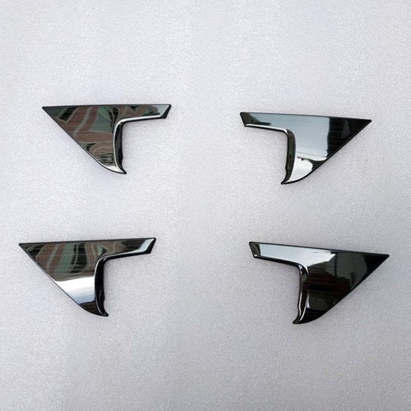 Interior Accessories Door Handle Cover Trim  For Toyota Rav4 Rav 4 Xa50 2019 2020 Metal Garnish