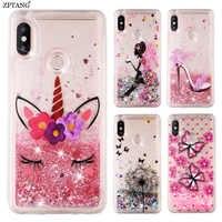 Glitter Liquid Silicone Case For Samsung Galaxy A50 A10 A20 A30 A40 A70 M10 M20 M30 Note 9 10 S10 S9 S8 Plus S10E Case Cover