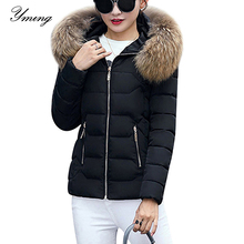 Winter Down Jackets Women Fashion Warm Coat Cotton Thickening Parka Fur Collar Jackets with Hooded Detachable Cap Winter Clothes
