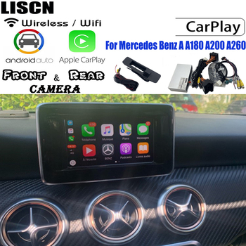 Wifi Carplay For Mercedes Benz A A180 A200 A260 2010 ~ 2019 Bluetooth Carplay Android Auto Interface Original screen carlife image