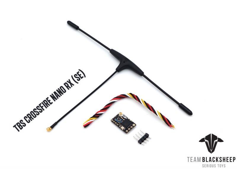 Оригинальный Радиоуправляемый Дрон-приемник TeamBlackSheep TBS CROSSFIRE NANO RX (SE) с антенной IMMORTAL T V2 для радиоуправляемых дронов FPV Racing