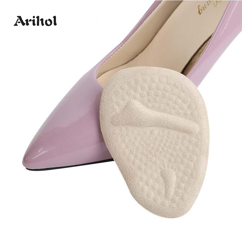 Arihol Gel Forefoot Ball Insoles For Women Anti-slip Cushions Shoe  Inserts Pads Foot Pain Relief Soft Metatarsal Pads