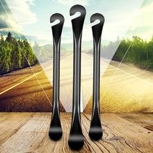 3PCS Bike Fixed Wrench Spanner Mountain MTB Bike Metal Alloy Curved Steel Tyre Tire Lever Repair Wrench Bicycle Repair Tool effort wrench tire changer energizer effort spanner for truck tire lug wrench tool labor saving wrench tyre wrench