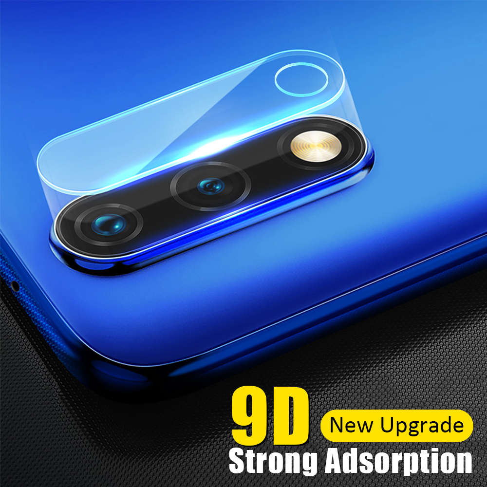 3PCS 9D Camera Tempered Glass Protective Film for Huawei Honor 9 10 Lite 20 Pro 8X 10i 20i Back Camera Lens Tempered Glass Film image