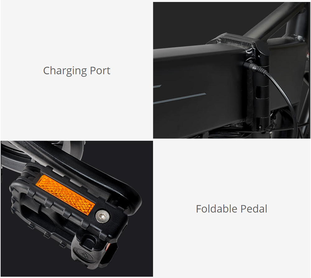 Crosscity Folding Electric Bike