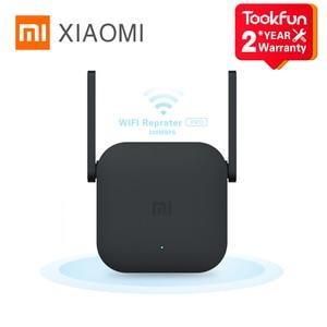 Xiaomi WiFi Router Amplifier Pro 300M Network Expander Repeater Signal Overlay Wireless Range Extender 2 External Antennas