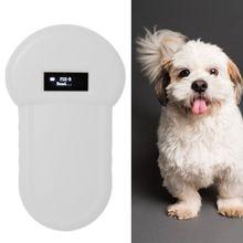 USB Handheld Protable Pet Chip Reader Scanner Animal Microchip Recognition Reader for Cat Dog Transponders in Cushioned Case
