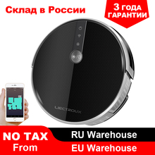 2019 Smartest LIECTROUX Robot Vacuum Cleaner C30B, 3000Pa Suction, Map navigation with Memory,Wifi APP, Big Electric Water tank все цены