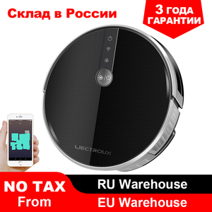 2020 Smartest LIECTROUX Robot Vacuum Cleaner C30B, 3000Pa Suction, Map navigation with Memory,Wifi APP, Big Electric Water tank(China)
