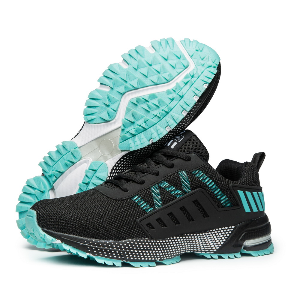 Men Marathon Running Shoes Breathable Durable Outdoor Sports Shoes Lightweight Sneakers Comfortable Athletic Training Footwear