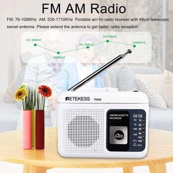 Радиоприемник RETEKESS TR606 FM/AM 2