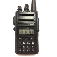 Rádio em dois sentidos handheld da faixa dupla de puxing px 888k px-888k 136-174mhz e transceptor da frequência ultraelevada 400-480mhz walkie talkie px888k