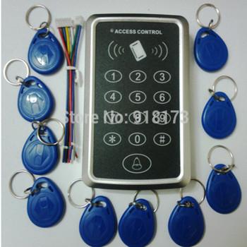 Cena promocyjna darmowa wysyłka + 10 znacznik rfid + RFID takich atrakcji jak kontrola dostępu za pomocą karty RFID EM klawiatura kontrola dostępu za pomocą karty mechanizm otwierania drzwi tanie i dobre opinie zhizaibide CN (pochodzenie) LH-KEYPAD110