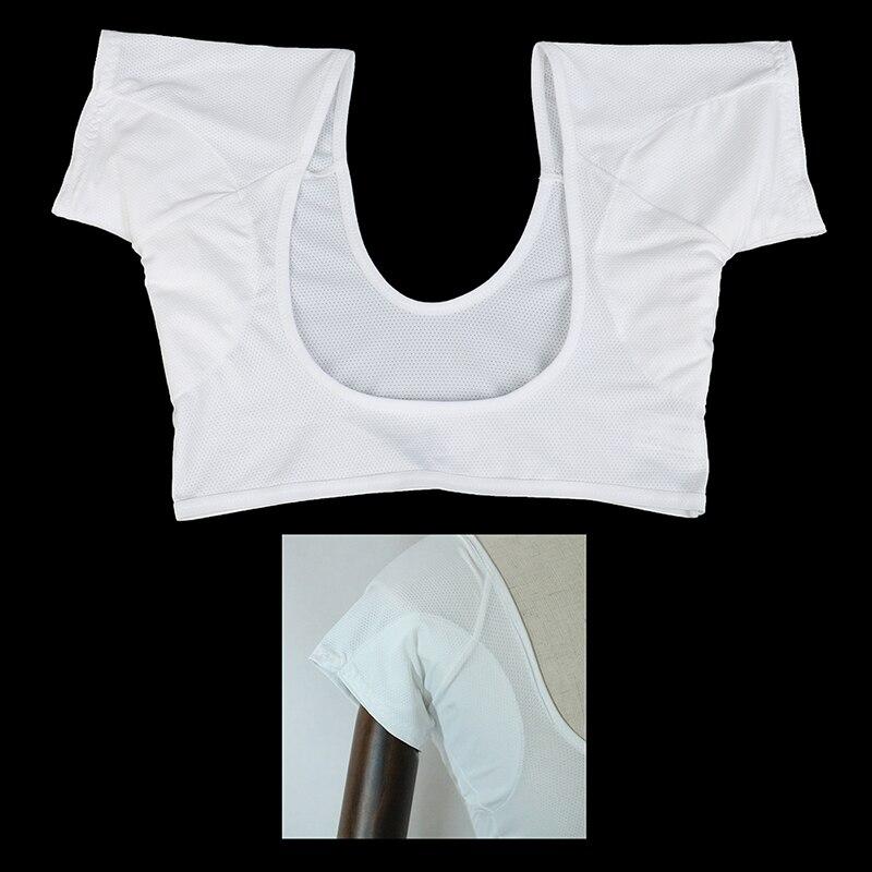 T-shirt Shape Sweat Pads Reusable Washable Underarm Armpit Sweat Pads Perfume Absorbing Sweat Size