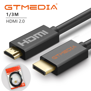 新しい GTMEDIA 高速 HDMI ケーブルバージョン 2.0 ビデオケーブル 1080 1080P 3D 金メッキケーブル HDTV XBOX PS3