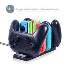 Yeni denetleyici şarj cihazı şarj standı taşınabilir sevinç oyun con & anahtarı Pro denetleyici şarj cihazı için Nintendo anahtarı Pro Joystick