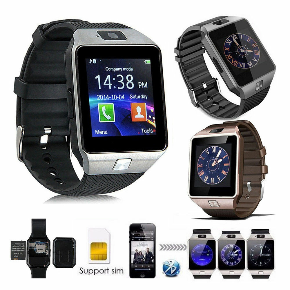 DZ09 Bluetooth Smart Wrist Watch Sport Office Phone Mate Use For Android & IOS|Armbands| - AliExpress