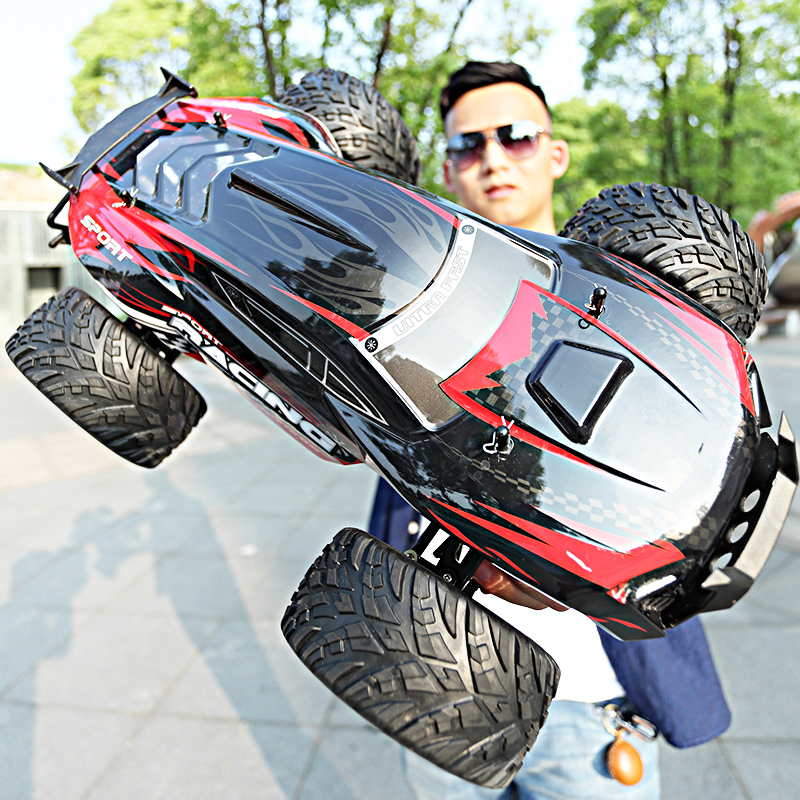 2020New Durable Racing <font><b>RC</b></font> Car 4WD 2.4G <font><b>1:10</b></font> Full-ratio Four-wheel 30-35KM Remote Control Car High-speed <font><b>RC</b></font> <font><b>Drift</b></font> Car Buggy Truck image