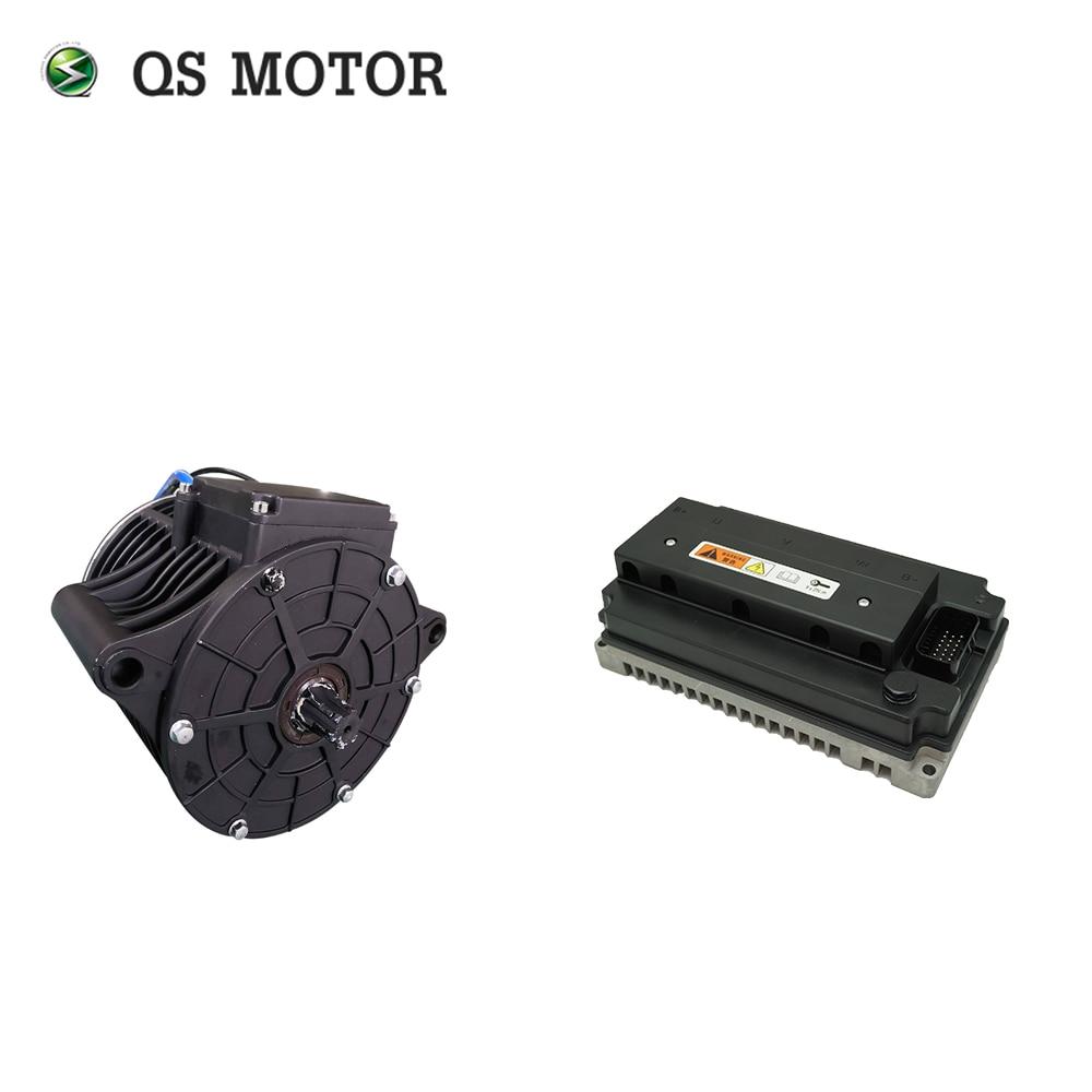 QS Motor 2000W 120 72V 70KPH Mid Drive Motor Kits With EM100SP Controller Racing Bike