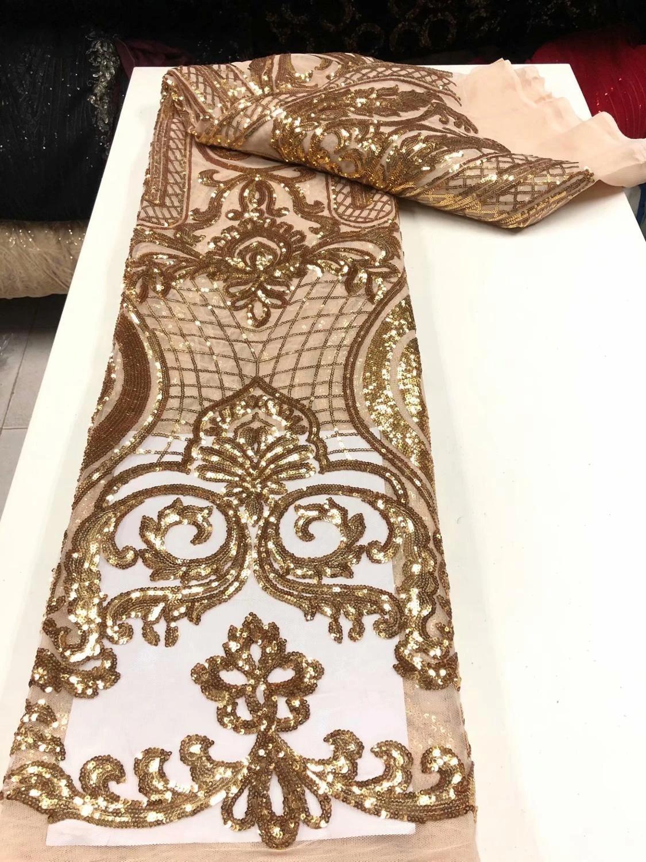 9 Yd dernier indien large Golden Zari Work couleur tissu dentelle Boarder environ 8.23 m