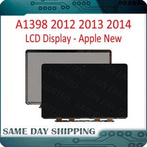 Новый оригинальный ЖК-экран для Apple MacBook Pro Retina 15 дюймов A1398, сменная панель дисплея 2012 2013 2014 года