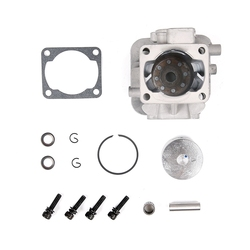 29CC 4 Hole Cylinder Set Fit for Zenoah CY Rovan TSRC XJM Engine for 1/5 HPI Rovan Kingmotor Baja Losi FG Goped