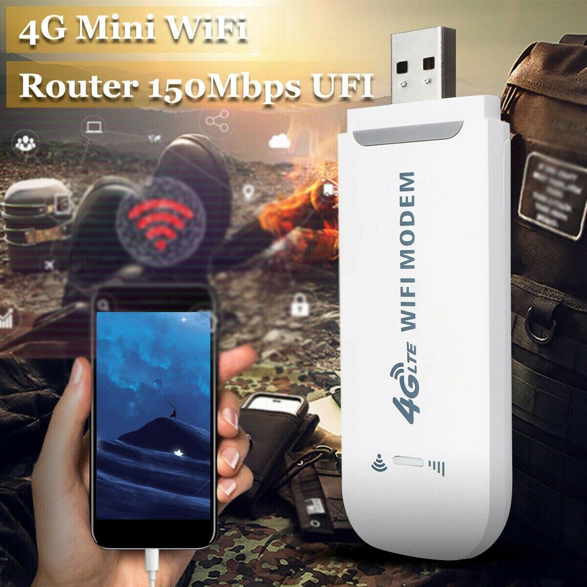 4g modem sem fio com wi-fi hotspot