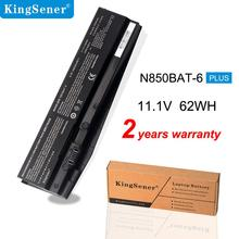 Kingsener N850BAT-6 akumulator do laptopa do Clevo N850 N850HC N850HJ N870HC N870HJ1 N870HK1 N850HJ1 N850HK1 N850HN 11.1 V 62WH/5500 mAh