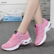 New Fashion Sneakers Women Breathable Mesh Casual Shoes Woman Lace-up Basket Femme Outdoor Walking Flats Ladies Shoes z302 women sneakers breathable outdoor walking shoes woman mesh casual shoes white lace up ladies shoes 2019 fashion female sneakers
